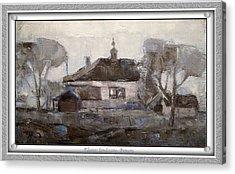 Elegiac Landscape Ell2 Acrylic Print