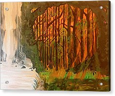 Elemences Acrylic Print by Fallon Franzen