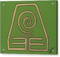 Element Of Earth In Cy Lantyca Acrylic Print