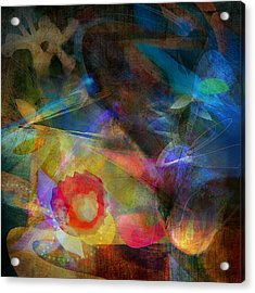 Elements II - Emergence Acrylic Print by Bryan Dechter
