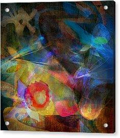 Elements II - Emergence Acrylic Print by Bryan Dechter