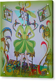Eleonore Friend Princess Melisa Acrylic Print