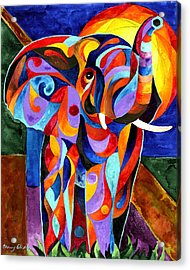 Elephant Dream Acrylic Print