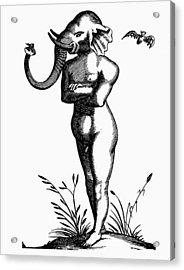 Elephant-headed Man, 1616 Acrylic Print