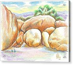 Elephant Rocks State Park II  No C103 Acrylic Print