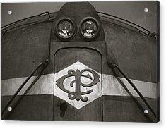 Acrylic Print featuring the photograph Eletric Locomotive by Amarildo Correa