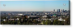 Elevated View Of City, Los Angeles Acrylic Print by Panoramic Images