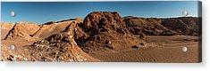 Elevated View Of Desert, Valle De La Acrylic Print