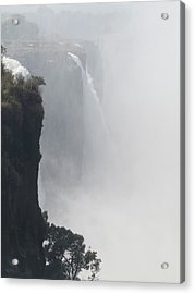 Elevated View Of Waterfall, Victoria Acrylic Print by Panoramic Images