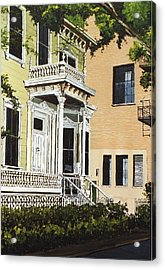 Eleventh And J Acrylic Print by Paul Guyer
