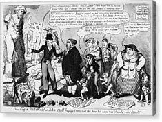 Elgin Marbles, 1816 Acrylic Print by Granger
