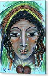 Elisabeth Acrylic Print by Maya Telford