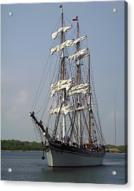 Elissa Tall Ship Acrylic Print