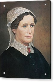 Eliza Johnson, First Lady Acrylic Print by Science Source
