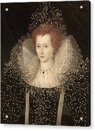 Elizabeth I Acrylic Print by Paul D Stewart