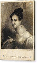 Elizabeth Margaret Chandler Acrylic Print