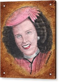 Elizabeth Short Before Acrylic Print by David Shumate