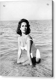 Elizabeth Taylor In Suddenly, Last Summer  Acrylic Print by Silver Screen