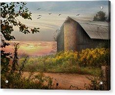 Elk County Acrylic Print by Lori Deiter