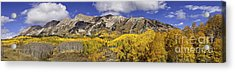 Elk Mountain Panorama Acrylic Print