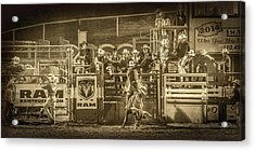 Elks Rodeo - 2014 Acrylic Print