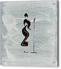 Ella Acrylic Print by Michael Tokarski
