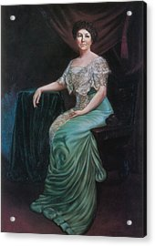 Ellen Wilson, First Lady Acrylic Print by Science Source