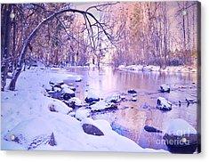 Ellis Creek On A Sunday Morning Acrylic Print