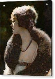 Elsie Ferguson Acrylic Print