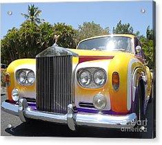 Elton John's Old Rolls Royce Acrylic Print