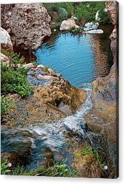 Acrylic Print featuring the photograph Elves Chasm by Britt Runyon
