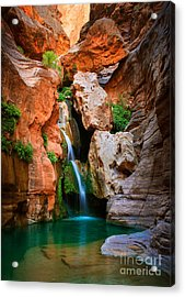 Elves Chasm Acrylic Print by Inge Johnsson