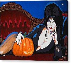 Elvira Dark Mistress Acrylic Print