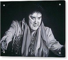 Elvis 1977 Acrylic Print