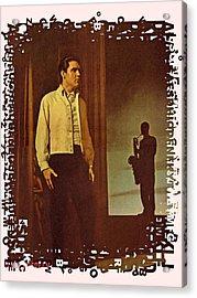 Elvis Aaron Presley Acrylic Print by Movie Poster Prints