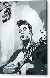 Elvis At Sun Acrylic Print by Suzanne Gee