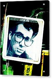 Elvis Costello Acrylic Print