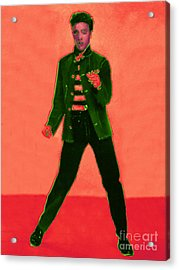 Elvis Is In The House 20130215m40 Acrylic Print by Wingsdomain Art and Photography