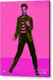 Elvis Is In The House 20130215m88 Acrylic Print by Wingsdomain Art and Photography