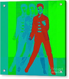 Elvis Jail House Rock 20130215p68 Acrylic Print by Wingsdomain Art and Photography