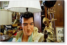 Elvis Lamp In Antique Shop Acrylic Print by Amy Cicconi