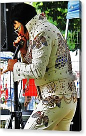 Acrylic Print featuring the photograph Elvis Lives... by Al Fritz