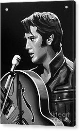 Elvis Presley 3 Acrylic Print