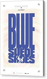 Elvis Presley - Blue Suede Shoes Acrylic Print