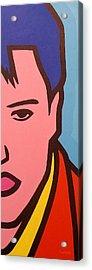 Elvis Presley Acrylic Print by John  Nolan