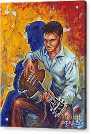 Elvis Presley Acrylic Print by Samantha Geernaert