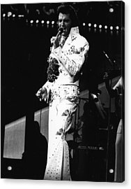 Elvis Presley Still The King Acrylic Print