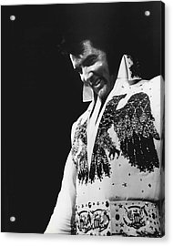 Elvis Presley The King Acrylic Print by Retro Images Archive