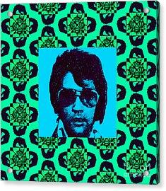 Elvis Presley Window P128 Acrylic Print