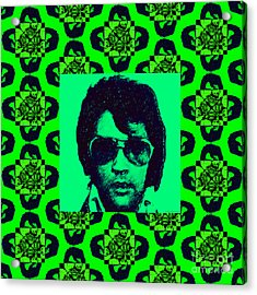 Elvis Presley Window P88 Acrylic Print